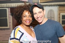 Denise Burse and Garth Kravits. Photo by Lia Chang