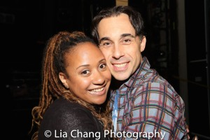 Tracie Thoms and Ryan Duncan. Photo by Lia Chang