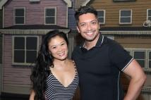 Kristen Faith Oei and Jon Hoche. Photo by Lia Chang