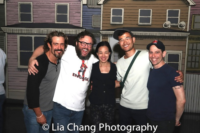Brandon Williams, Jay Klaitz, Lia Chang, Daniel K. Isaac and Garth Kravits.
