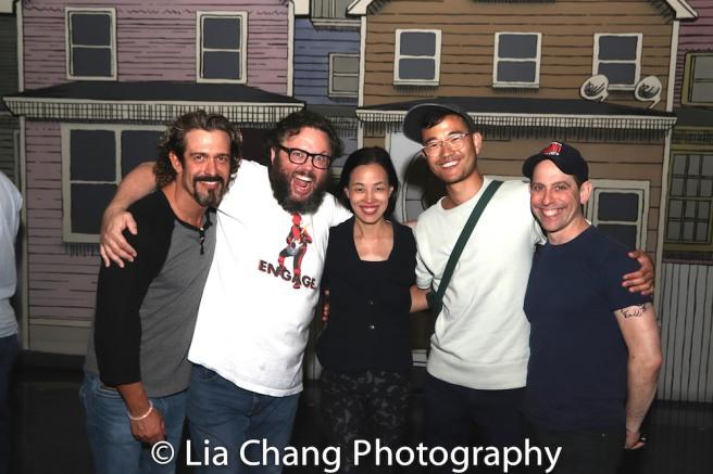 Brandon Williams, Jay Klaitz, Lia Chang, Daniel K. Isaac and Garth Kravits.