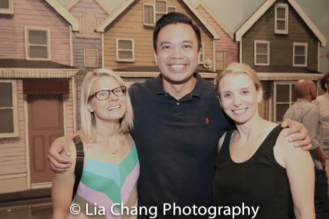 Celia Keenan-Bolger, Jose Llana and Sarah Saltzberg. Photo by Lia Chang