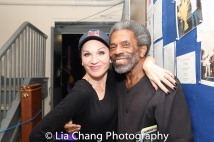 Marilu Henner and André De Shields. Photo by Lia Chang