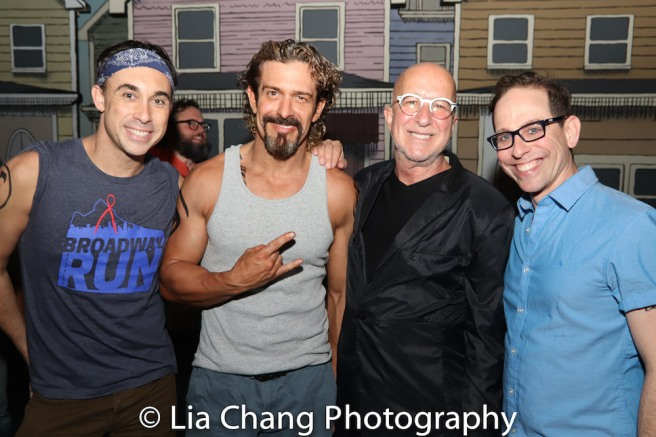 Ryan Duncan, Brandon Williams, Paul Shaffer and Garth Kravits. Photo by Lia Chang