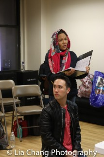 Kennedy Kanagawa (Jack) and Lydia Gaston (Jack's Mother). Photo by Lia Chang