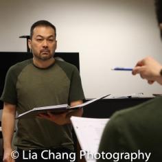 David Shih (the Wolf). Photo by Lia Chang