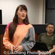 Katie Mariko Murray (Cinderella) and David Shih (Cinderella's Father). Photo by Lia Chang