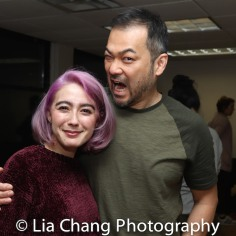 Alex Chester (Little Red Ridinghood) and David Shih (the Wolf). Photo by Lia Chang
