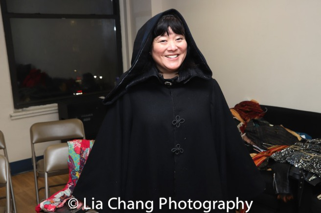 Ann Harada (the Witch). Photo by Lia Chang