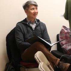 Jason Ma (Narrator/Mysterious Man). Photo by Lia Chang