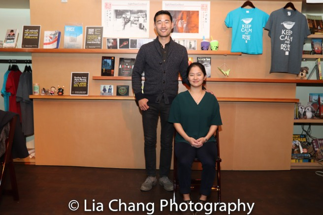 Daniel K. Isaac and Shannon Tyo, stars of THE CHINESE LADY. Photo by Lia Chang