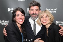 Rachel Chavkin, David Neumann and Anais Mitchell. Photo by Lia Chang