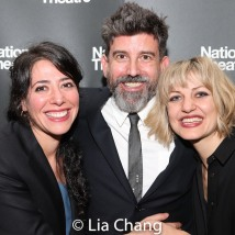 Rachel Chavkin, David Neumann and Anais Mitchell. Photo by Lia Chang