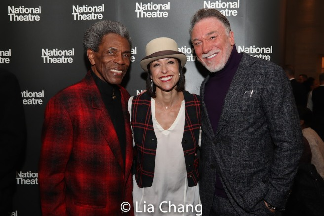 André De Shields, Paige Davis and Patrick Page. Photo by Lia Chang