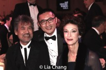 Playwright David Henry Hwang, Opera Composer Huang Ruo, Judith-Ann Corrente, CEO, President and Director of Metropolitan Opera. Photo by Lia Chang