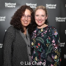 Co-Producer Mara Isaacs and Rachel Quinney, National Theatre's producer for HADESTOWN. Photo by Lia Chang