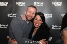 Tim Levy, producer for NT America and Director Rachel Chavkin. Photo by Lia Chang