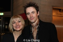 Anais Mitchell and Reeve Carney. Photo by Lia Chang