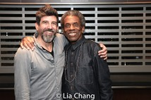 Choreographer David Neumann and André De Shields. Photo by Lia Chang