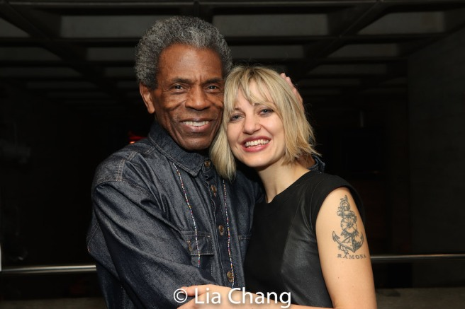 André De Shields and Anais Mitchell. Photo by Lia Chang
