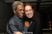 André De Shields and Co-Producer Mara Isaacs. Photo by Lia Chang