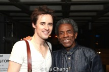 Reeve Carney and André De Shields. Photo by Lia Chang