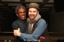 André De Shields and Music Director and Vocal Arranger Liam Robinson
