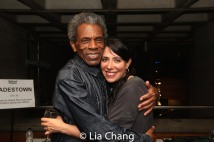André De Shields and Director Rachel Chavkin. Photo by Lia Chang