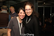 Director Rachel Chavkin and Co-producer Mara Isaacs. Photo by Lia Chang