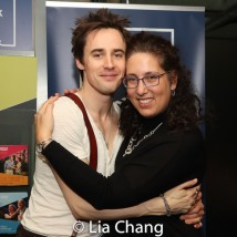 Reeve Carney and Co-producer Mara Isaacs. Photo by Lia Chang