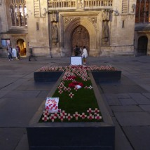Remembrance Day in Bath. Photo by Lia Chang