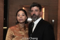 Eva Noblezada and Choreographer David Neumann. Photo by Lia Chang