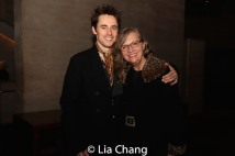 Reeve Carney and his mom, Marti Heil-Carney. Photo by Lia Chang