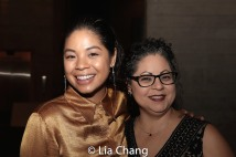 Eva Noblezada and her mom, Angie Noblezada. Photo by Lia Chang