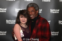 Beth Hinton-Lever and André De Shields. Photo by Lia Chang