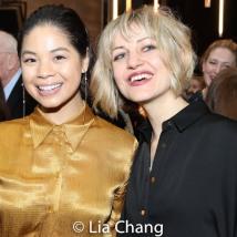 Eva Noblezada and Anais Mitchell. Photo by Lia Chang