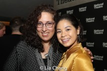 Mara Isaacs and Eva Noblezada. Photo by Lia Chang