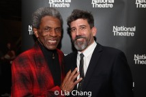 André De Shields and Choreographer David Neumann. Photo by Lia Chang