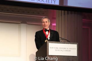 Honoree Jim Dale. Photo by Lia Chang