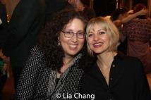 Co-Producer Mara Isaacs and Anais Mitchell. Photo by Lia Chang