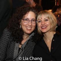 Co-Producer Mara Isaacs and Anais Mitchell. Photo by Lia Chang