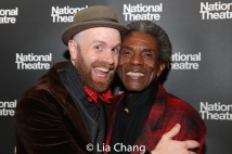 Liam Robinson and André De Shields. Photo by Lia Chang