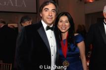 John Monsky, NYHS trustee and honoree Dr. H.M. Agnes Hsu-Tang. Photo by Lia Chang