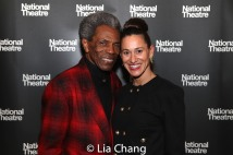 André De Shields and Maija Garcia. Photo by Lia Chang