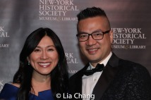 Andy Chen and honoree Dr. H.M. Agnes Hsu-Tang. Photo by Lia Chang