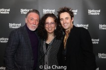 Patrick Page, Mara Isaacs and Reeve Carney. Photo by Lia Chang