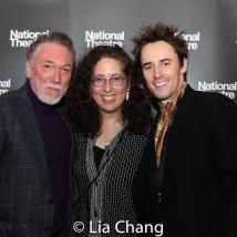 Patrick Page, Mara Isaacs and Reeve Carney. Photo by Lia Chang