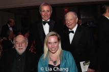 Honoree Jim Dale and NYHS guests. Photo by Lia Chang