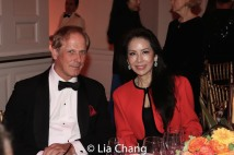 Shayne Doty, Managing Director of Philanthropy at the Asia Society and Angela Chen. Photo by Lia Chang