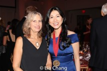 Louise Mirrer, President and CEO, New-York Historical Society and honoree Dr. H.M. Agnes Hsu-Tang
